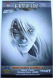 Witchblade #95 NYCC Black & White Turner Variant Ltd 500 Top Cow comic book